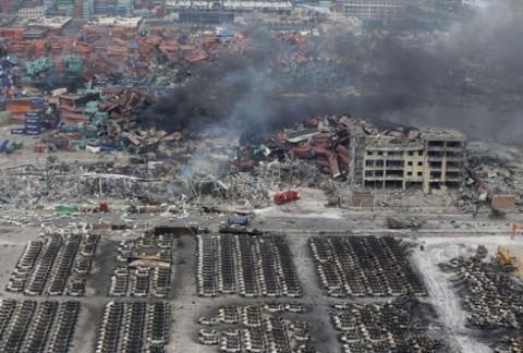 Катастрофа в Киетае после взрыва 1