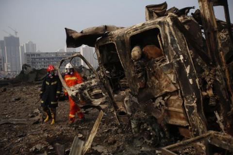 Катастрофа в Киетае после взрыва 2