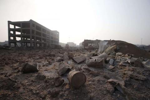 Катастрофа в Киетае после взрыва 3