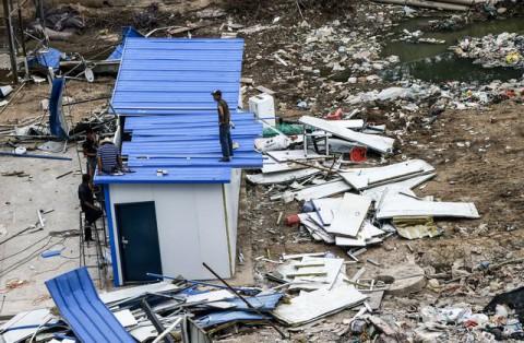 Катастрофа в Киетае после взрыва 4
