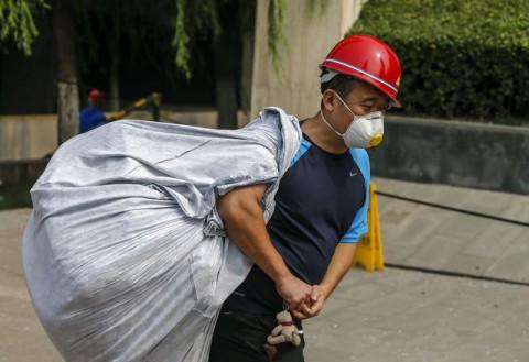 Катастрофа в Киетае после взрыва 5