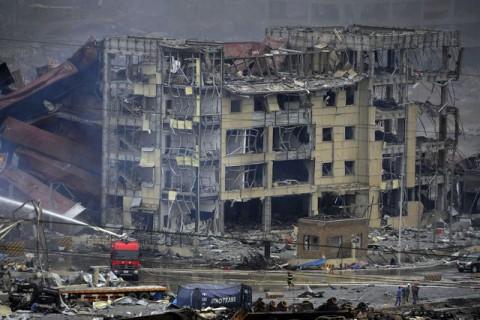 Катастрофа в Киетае после взрыва 6