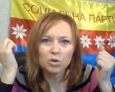 Пропагандистці з Новомосковщини Шиловій, РФія заборонила в'їзд до 2050 року! (ВІДЕО)