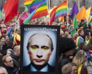 Голубая Матушка Россия «Гейропа по российски» (ВИДЕО)