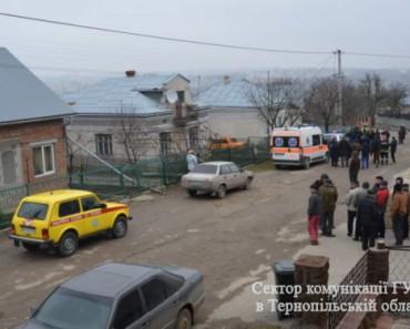 Спецоперация по освобождению заложника под Тернополем (ВИДЕО)