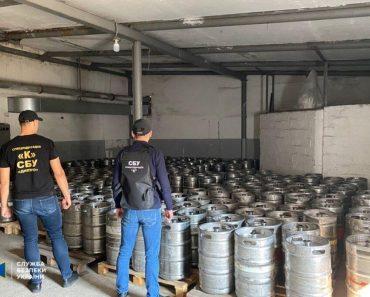 На Дніпропетровщині СБУ викрила підпільне виробництво алкоголю