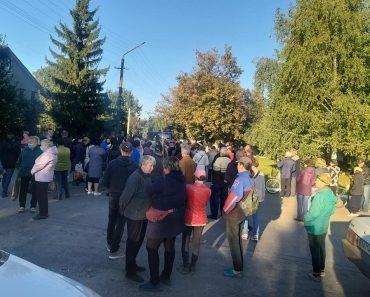 На Дніпропетровщині проходить акція проти зростання тарифів ЖКГ